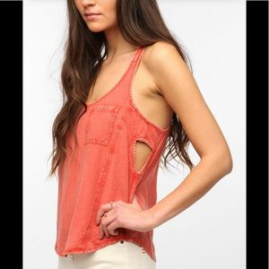Urban Outfitters Silence + Noise side cutout tank